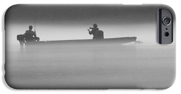 White River iPhone Cases - Gone Fishing iPhone Case by Mike McGlothlen