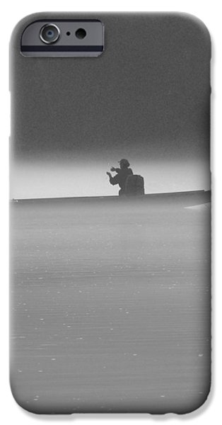 Gone Fishing iPhone Case by Mike McGlothlen