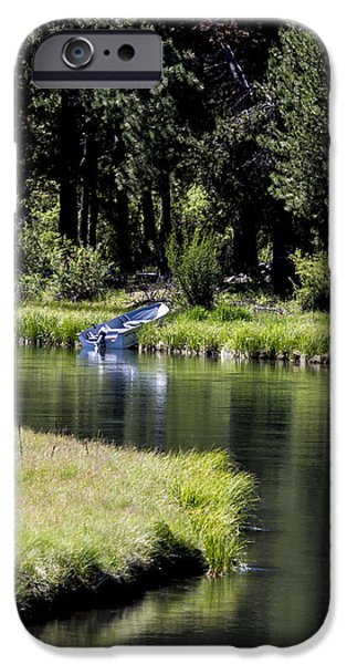 Deschutes River iPhone Cases - Gone Napping iPhone Case by Belinda Greb