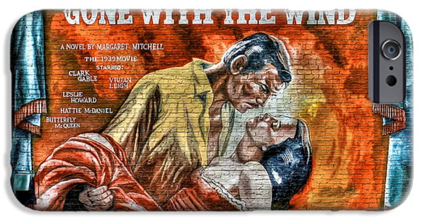 Epic iPhone Cases - Gone With The Wind iPhone Case by Reid Callaway