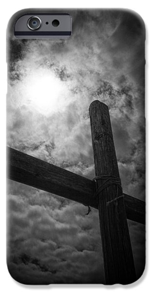 Dark Skies iPhone Cases - Good Friday iPhone Case by Caitlyn  Grasso