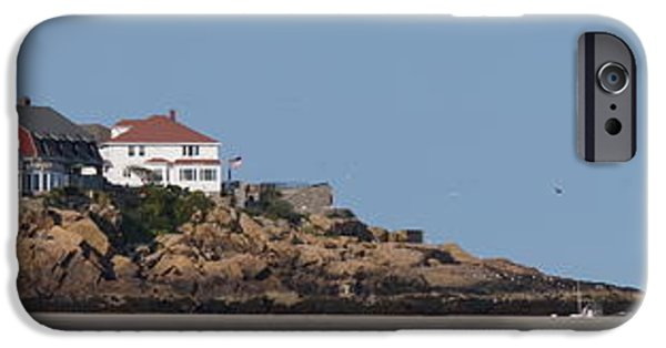 Recently Sold -  - New England Lighthouse iPhone Cases - Good Harbor Beach iPhone Case by Zori Minkova
