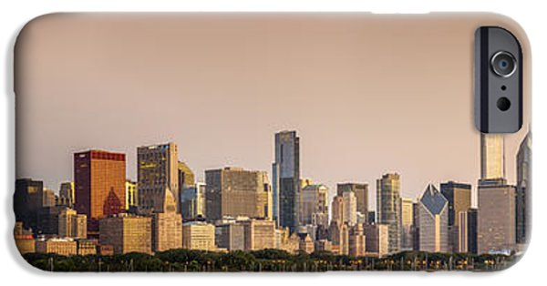 Willis Tower iPhone Cases - Good Morning Chicago iPhone Case by Sebastian Musial