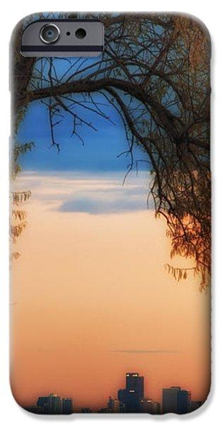 Good Morning Denver iPhone Case by Darren  White