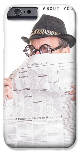 Newspaper iPhone Cases - Good News iPhone Case by Edward Fielding