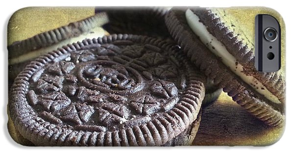 Oreo iPhone Cases - Good old Oreos iPhone Case by Barbara Orenya