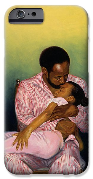 African-american iPhone Cases - Goodnight Baby iPhone Case by Colin Bootman