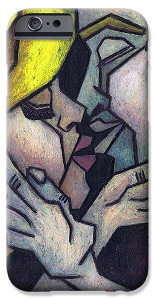 Goodnight Kiss iPhone Case by Kamil Swiatek