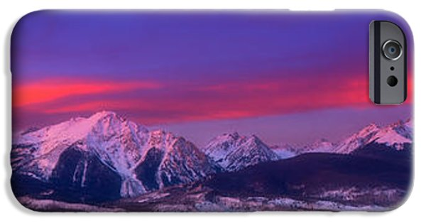 Gore iPhone Cases - Gore Range Pano iPhone Case by Darren  White