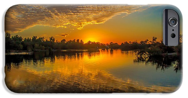 United States iPhone Cases - Gorgeous Sunset  iPhone Case by Robert Bales