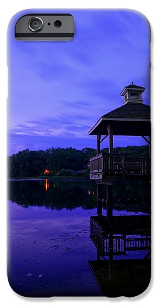 Warwick iPhone Cases - Gorton Pond Rhode Island iPhone Case by Lourry Legarde