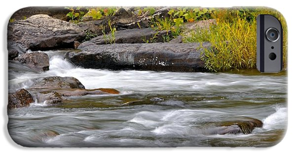 Trout Stream Landscape iPhone Cases - Goshen Pass 5 iPhone Case by Todd Hostetter