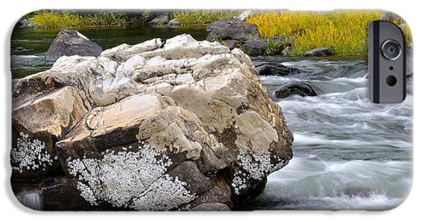 Trout Stream Landscape iPhone Cases - Goshen Pass 7 iPhone Case by Todd Hostetter