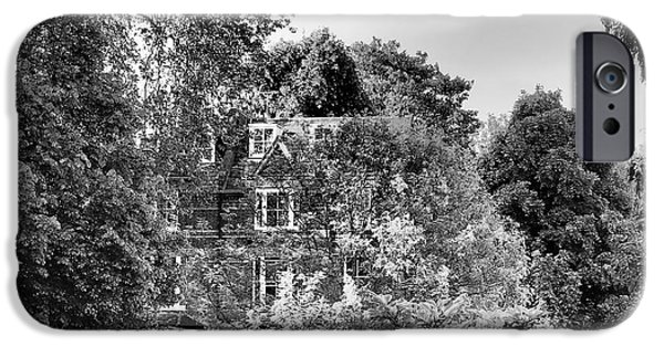 Architecture iPhone Cases - Gothic Hampstead iPhone Case by Rona Black