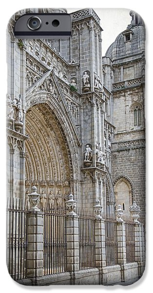 Gothic Splendor of Spain iPhone Case by Joan Carroll