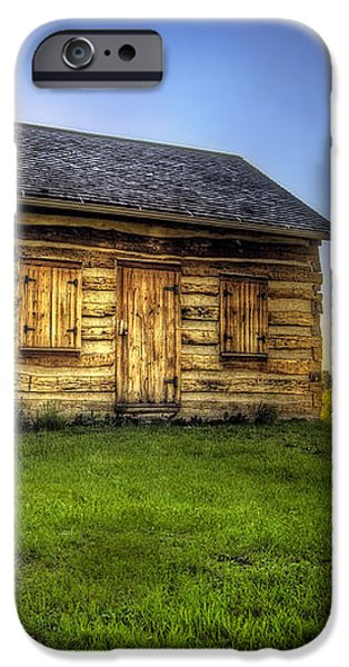 Gotten Log Cabin iPhone Case by Scott Norris