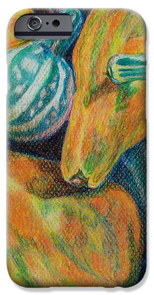 Gourds for Sale iPhone Case by Janet Felts
