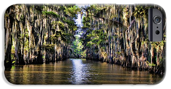 Bayou iPhone Cases - Government Ditch iPhone Case by Lana Trussell