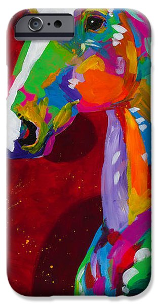The Horse iPhone Cases - Grace iPhone Case by Tracy Miller