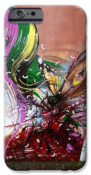 Graffiti Art Curitiba Brazil 15 iPhone Case by Bob Christopher