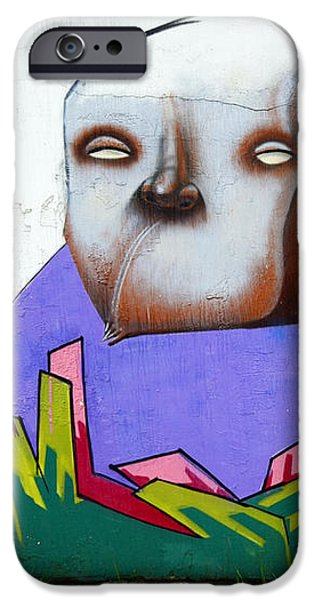 Graffiti Art Curitiba Brazil 17 iPhone Case by Bob Christopher