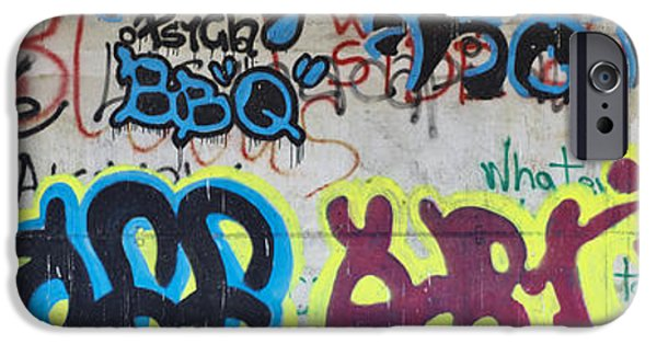 Dirty iPhone Cases - Graffiti iPhone Case by Ivan Slosar