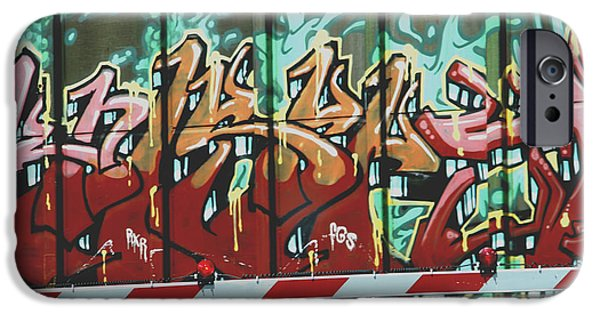 Painter Photographs iPhone Cases - Graffiti Train iPhone Case by Dan Sproul