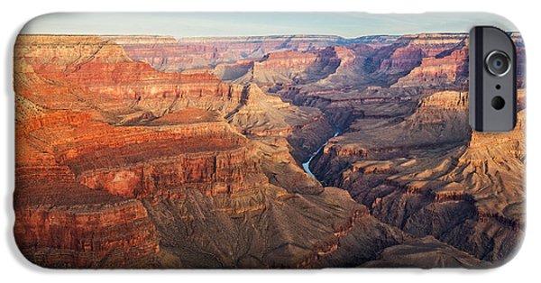 Watson Lake iPhone Cases - Grand Canyon - 2 iPhone Case by Alex Mironyuk