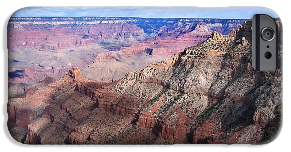 Grand Canyon Pyrography iPhone Cases - Grand Canyon 2 iPhone Case by Frank Enger