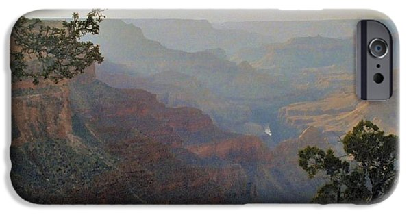 Grand Canyon iPhone Cases - Grand Canyon 2 iPhone Case by Stuart Litoff