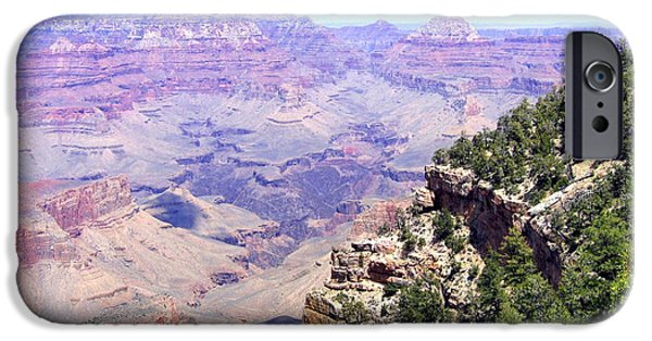 Grand Canyon iPhone Cases - Grand Canyon 68 iPhone Case by Will Borden