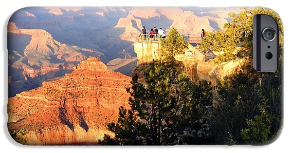 Grand Canyon iPhone Cases - Grand Canyon 81 iPhone Case by Will Borden