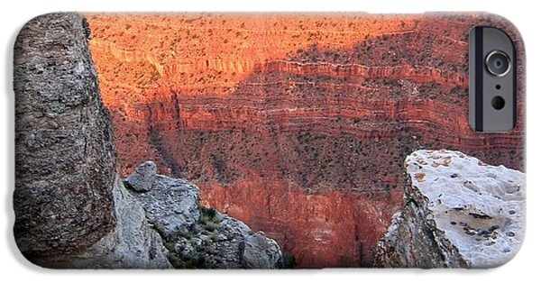 Grand Canyon iPhone Cases - Grand Canyon 85 iPhone Case by Will Borden