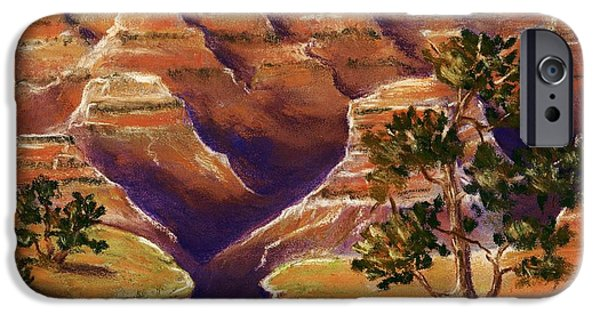 Rocks iPhone Cases - Grand Canyon iPhone Case by Anastasiya Malakhova
