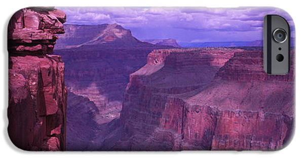 Cliff iPhone Cases - Grand Canyon, Arizona, Usa iPhone Case by Panoramic Images