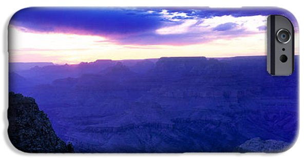 Grand Canyon iPhone Cases - Grand Canyon At Dusk, Grand Canyon iPhone Case by Panoramic Images