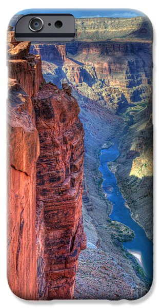Grand Canyon iPhone Cases - Grand Canyon Awe Inspiring iPhone Case by Bob Christopher