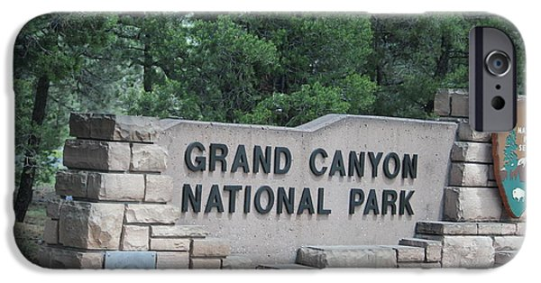 Red Rock iPhone Cases - Grand Canyon National Park iPhone Case by Minnie Davis