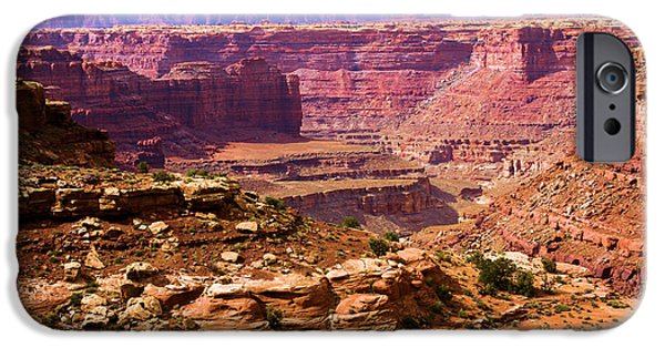 Slickrock iPhone Cases - Grand Canyon Of Utah iPhone Case by Adam Jewell