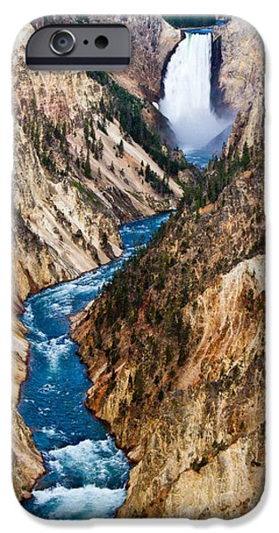 Bill Gallagher iPhone Cases - Grand Canyon of Yellowstone iPhone Case by Bill Gallagher
