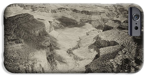 Grand Canyon iPhone Cases - Grand Canyon Square Panorama iPhone Case by Tanya Harrison