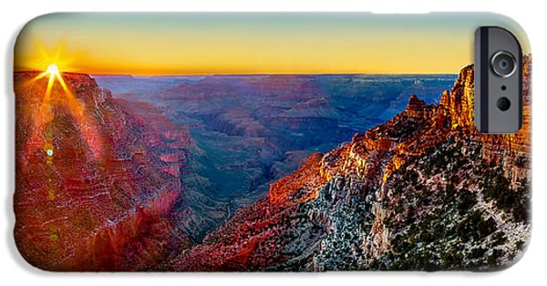 Grand Canyon iPhone Cases - Grand Canyon Sunset iPhone Case by Az Jackson