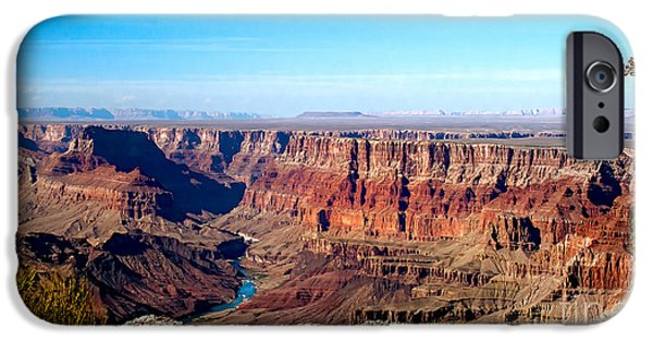 Recently Sold -  - Haybale iPhone Cases - Grand Canyon Vast View iPhone Case by Robert Bales