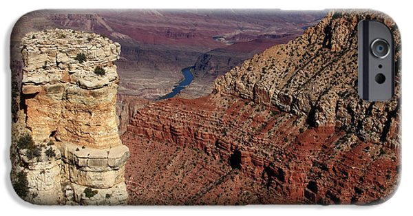 Grand Canyon iPhone Cases - Grand Canyon View iPhone Case by Aidan Moran