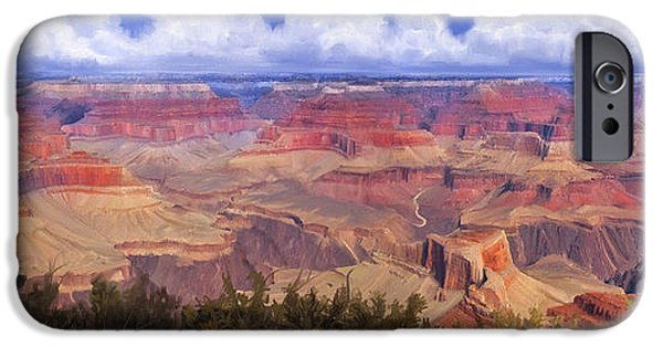 Grand Canyon iPhone Cases - Grand Canyon View iPhone Case by Dale Jackson