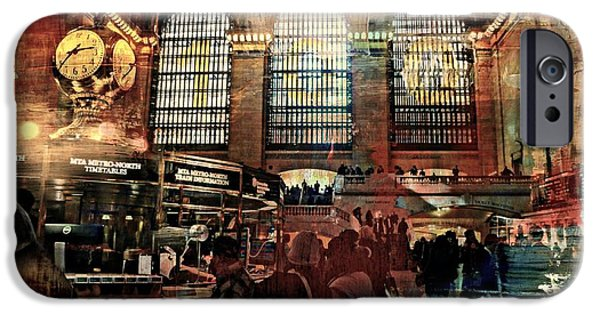 Tripple iPhone Cases - Grand Central Terminal 100 Years iPhone Case by Diana Angstadt