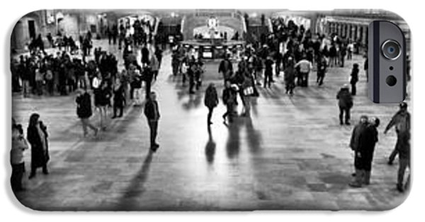 Monotone iPhone Cases - Grand Central Terminal Collage iPhone Case by John Rizzuto