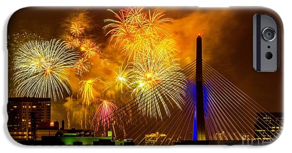 July 4th iPhone Cases - Grand Finale 2 iPhone Case by Mike Ste Marie