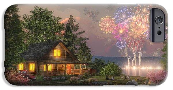 Best Sellers -  - Fireworks iPhone Cases - Grand Finale iPhone Case by Randy Earles