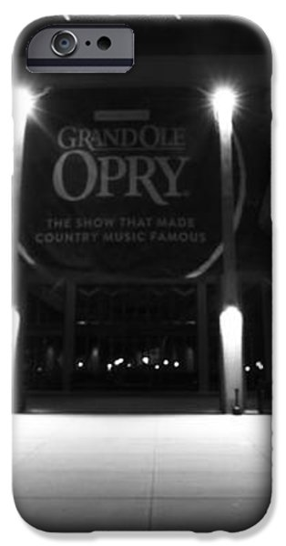 Grand Ole Opry At Night iPhone Case by Dan Sproul